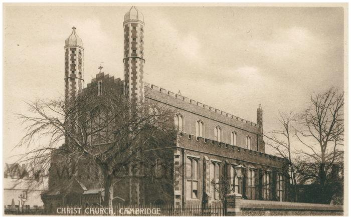 Postcard front: Christ Church, Cambridge