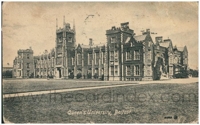 Postcard front: Queen's University, Belfast
