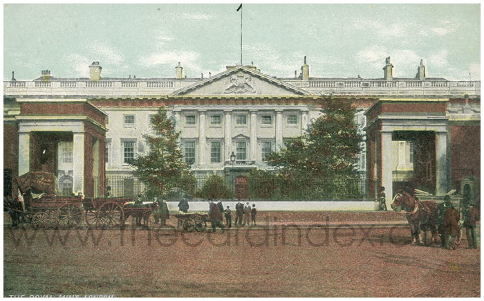 Postcard front: The Royal Mint, London