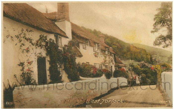 Postcard front: West Porlock.