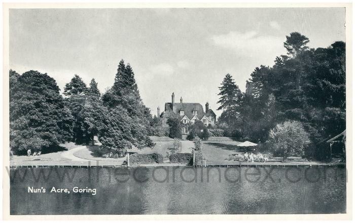 Postcard front: Nun's Acre, Goring