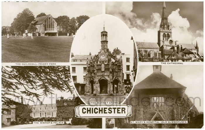 Postcard front: Chichester