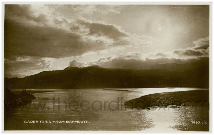 Postcard front: Cader Idris from Barmouth.