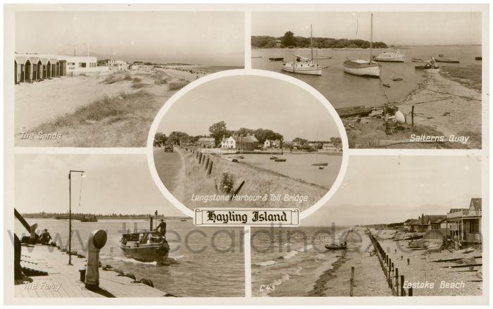 Postcard front: Hayling Island