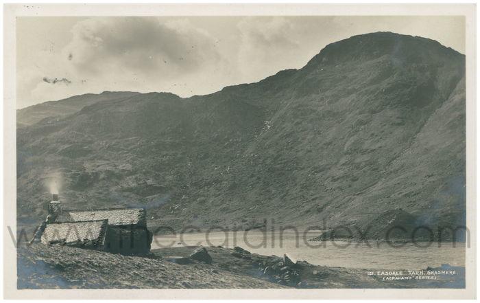 Postcard front: Easdale Tarn, Grasmere