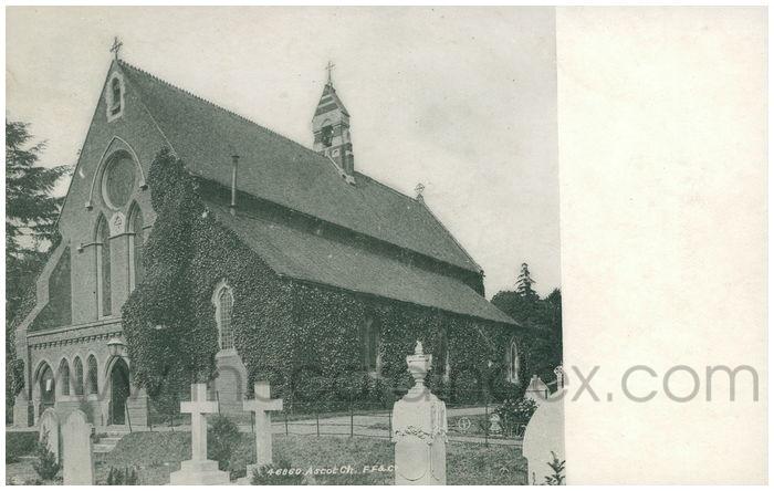 Postcard front: Ascot Ch.