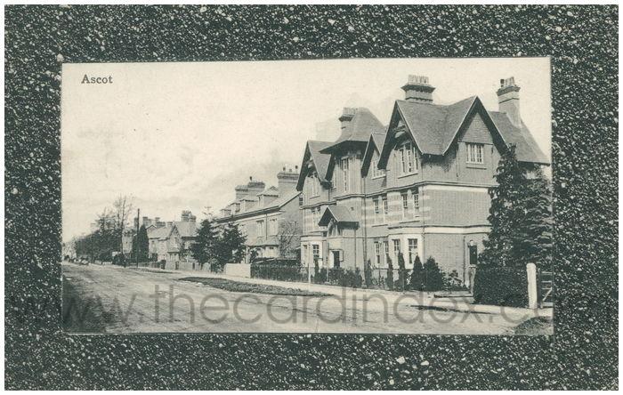 Postcard front: Ascot