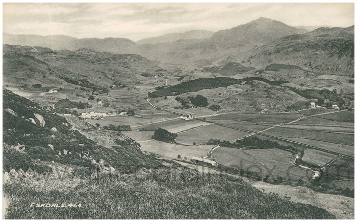 Postcard front: Eskdale.