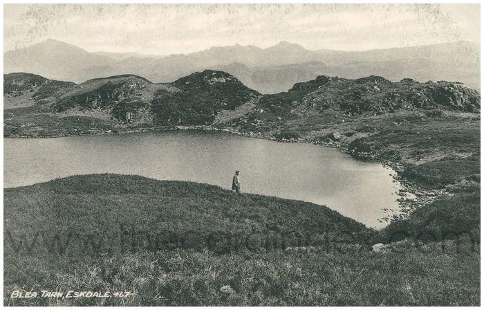 Postcard front: Blea Tarn, Eskdale.