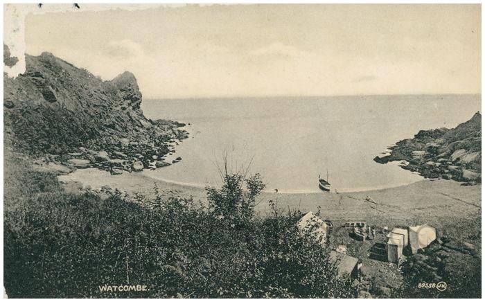 Postcard front: Watcombe.