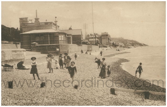 Postcard front: Sandgate, Sea Point.