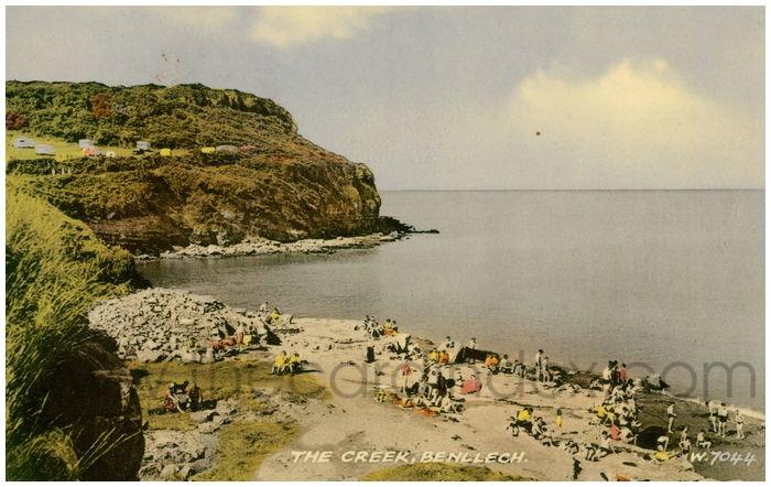 Postcard front: The Creek, Benllech.