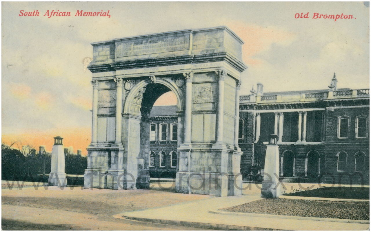 Brompton Barracks - South Africa Memorial Arch, Chatham