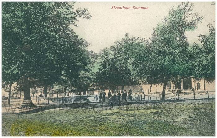 Postcard front: Streatham Common