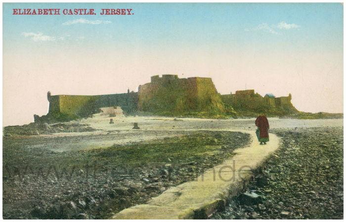 Postcard front: Elizabeth Castle. Jersey.