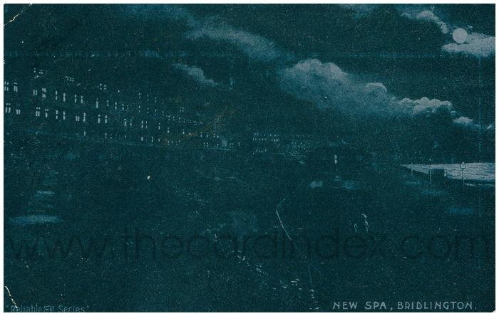 Postcard front: New Spa, Bridlington.