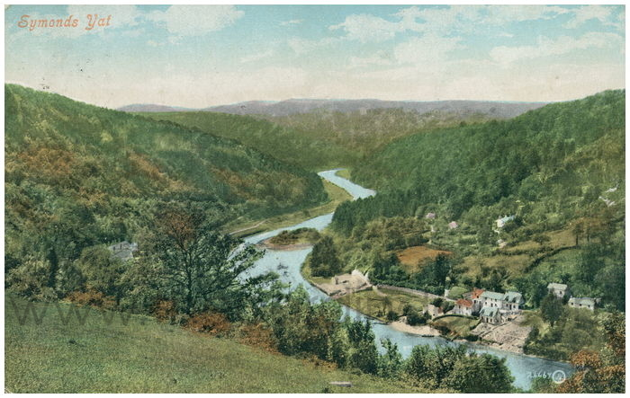 Postcard front: TEST symonds Yat