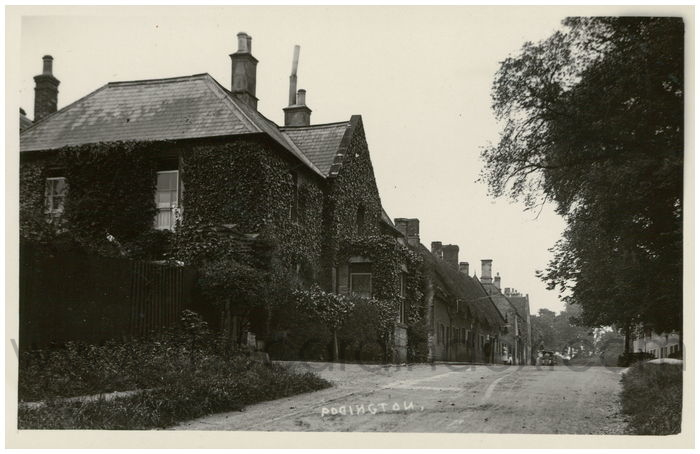 Postcard front: Podington