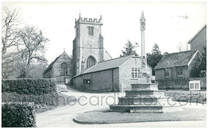 Postcard front: Childe Okeford, Dorset