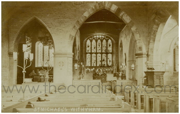 Postcard front: St. Michael's Withyham