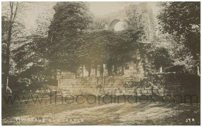 Postcard front: Mulgrave Old Castle