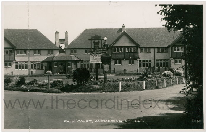 Postcard front: Palm Court, Angmering-on-Sea