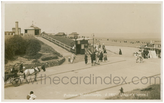 Postcard front: Pullover, Mablethorpe.