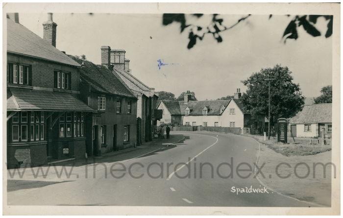 Postcard front: Spaldwick