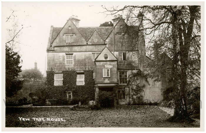 Postcard front: Yew Tree House