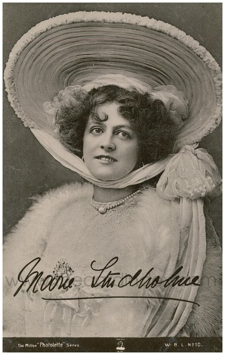 Postcard front: Marie Studholme