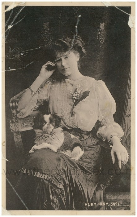 Postcard front: Ruby Ray