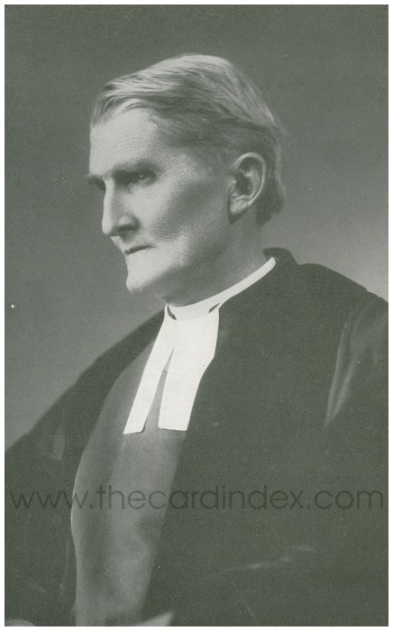 Postcard front: The Venerable William Percival Johnson, D.D - Archdeacon of Nyasaland, joined the Mission in 1876.