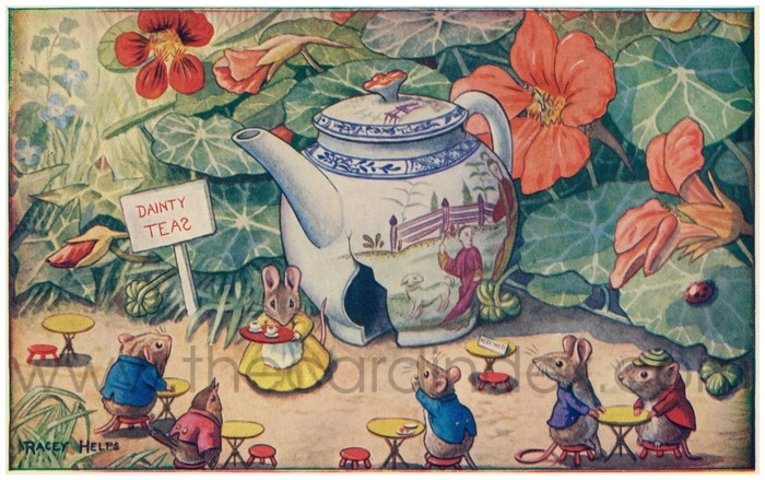 Postcard front: The Tea Shop
