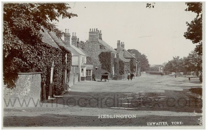 Postcard front: Heslington