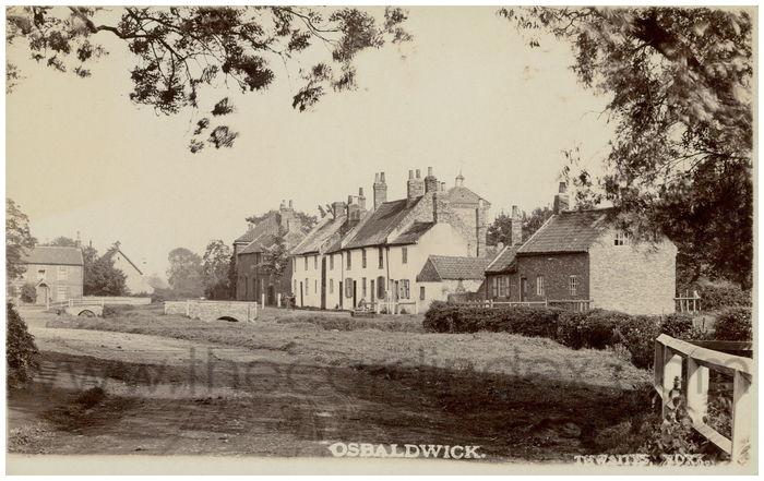 Postcard front: Osbaldwick