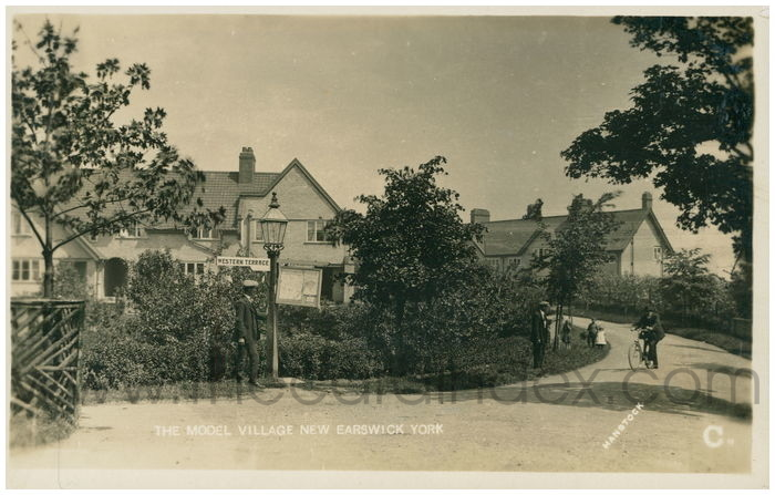 Postcard front: The Model Village New Earswick York