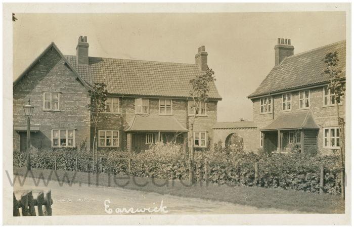 Postcard front: Earswick