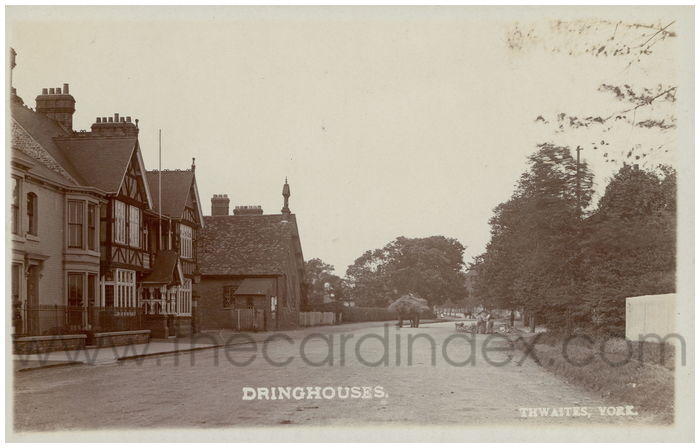Postcard front: Dringhouses