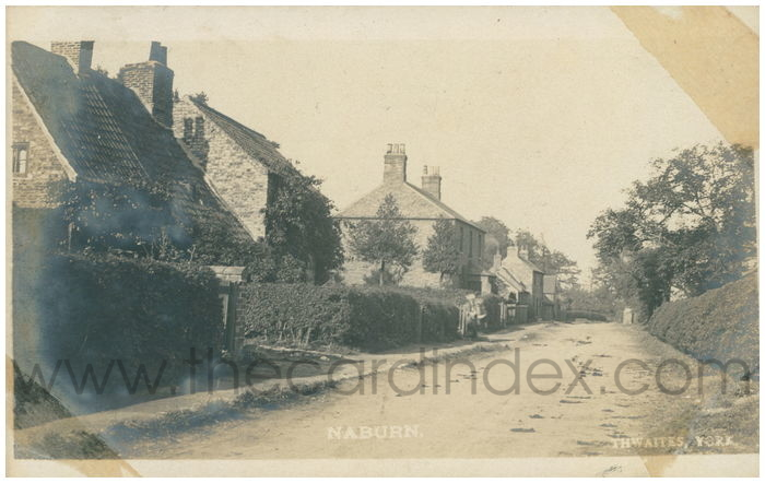 Postcard front: Naburn