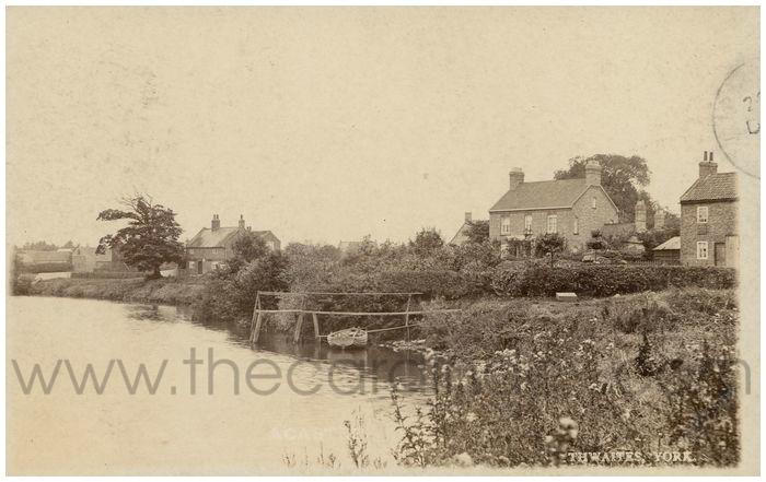 Postcard front: Acaster