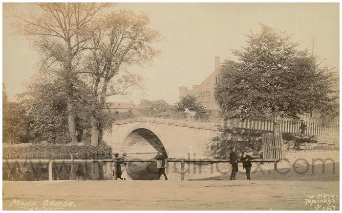 Postcard front: Monk Bridge - York