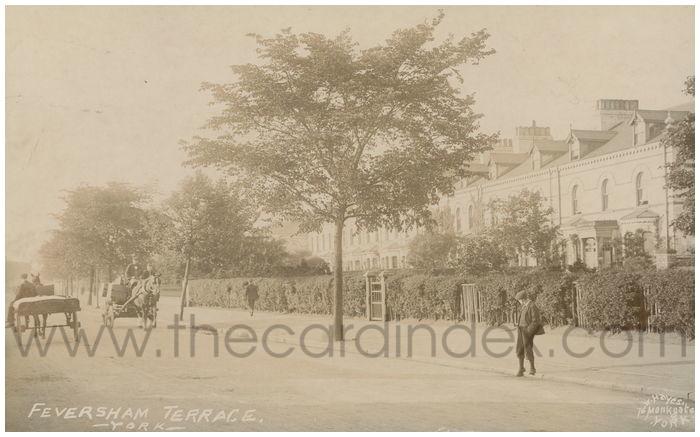 Postcard front: Feversham Terrace