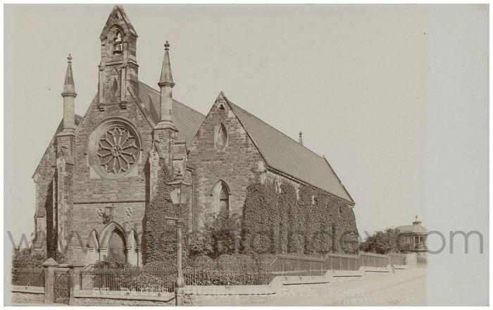 Postcard front: St. Paul's Church, Holgate, York
