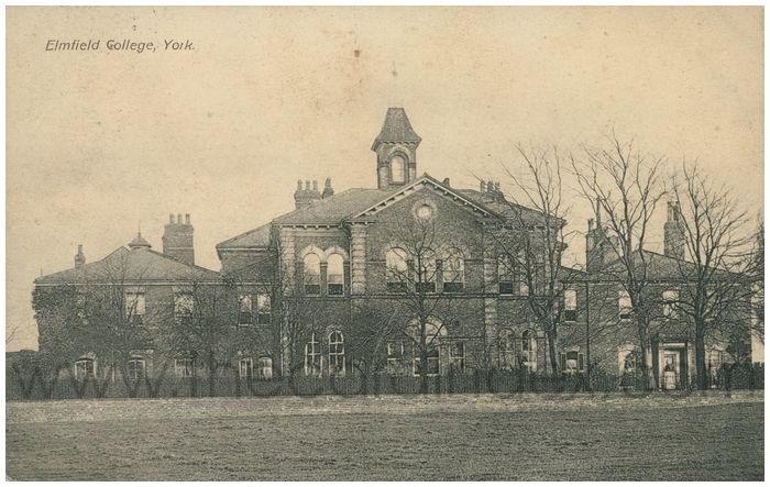Postcard front: Elmfield College