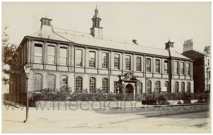 Postcard front: Fishergate Council School