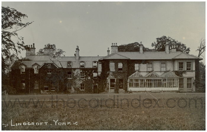 Postcard front: Lingcroft. York