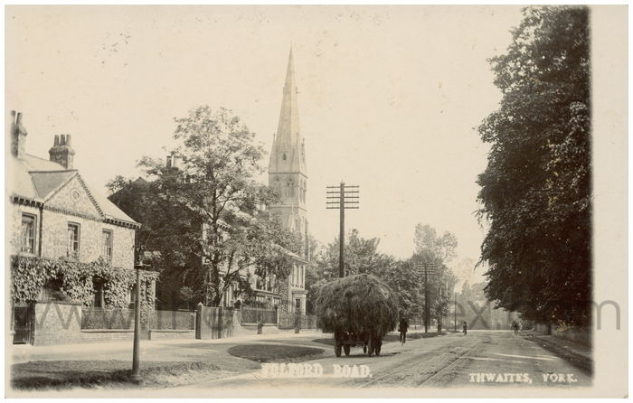 Postcard front: Fulford Road