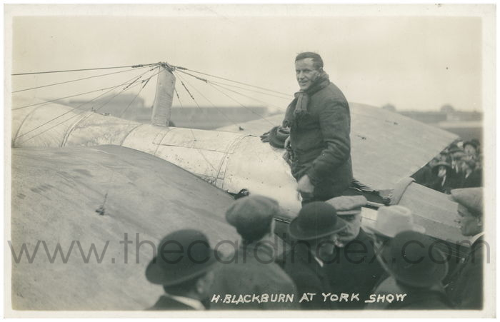 Postcard front: H. Blackburn at York Show