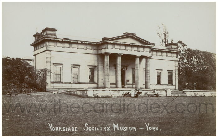 Postcard front: Yorkshire Society's Museum - York
