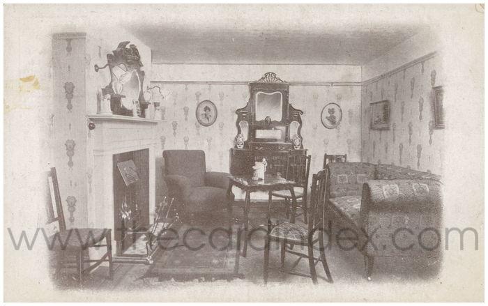 Postcard front: Model Homes at Brown Bros. & Taylor Ltd. York